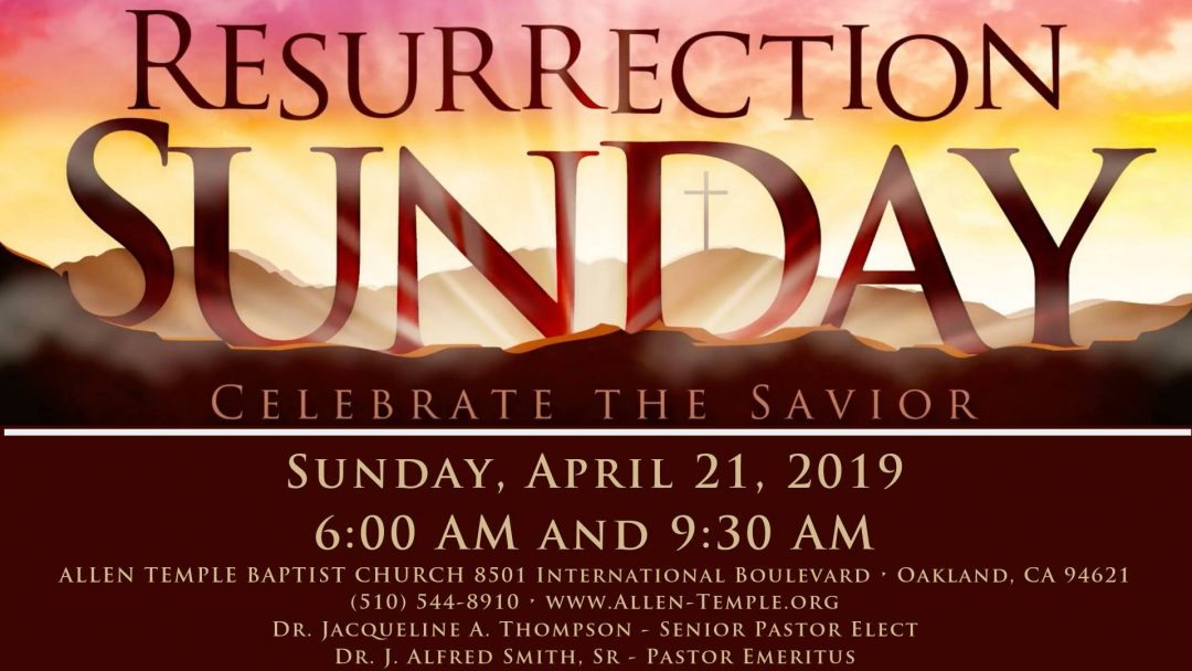 Allen Temple Baptist Church Resurrection Sunrise Service 2019