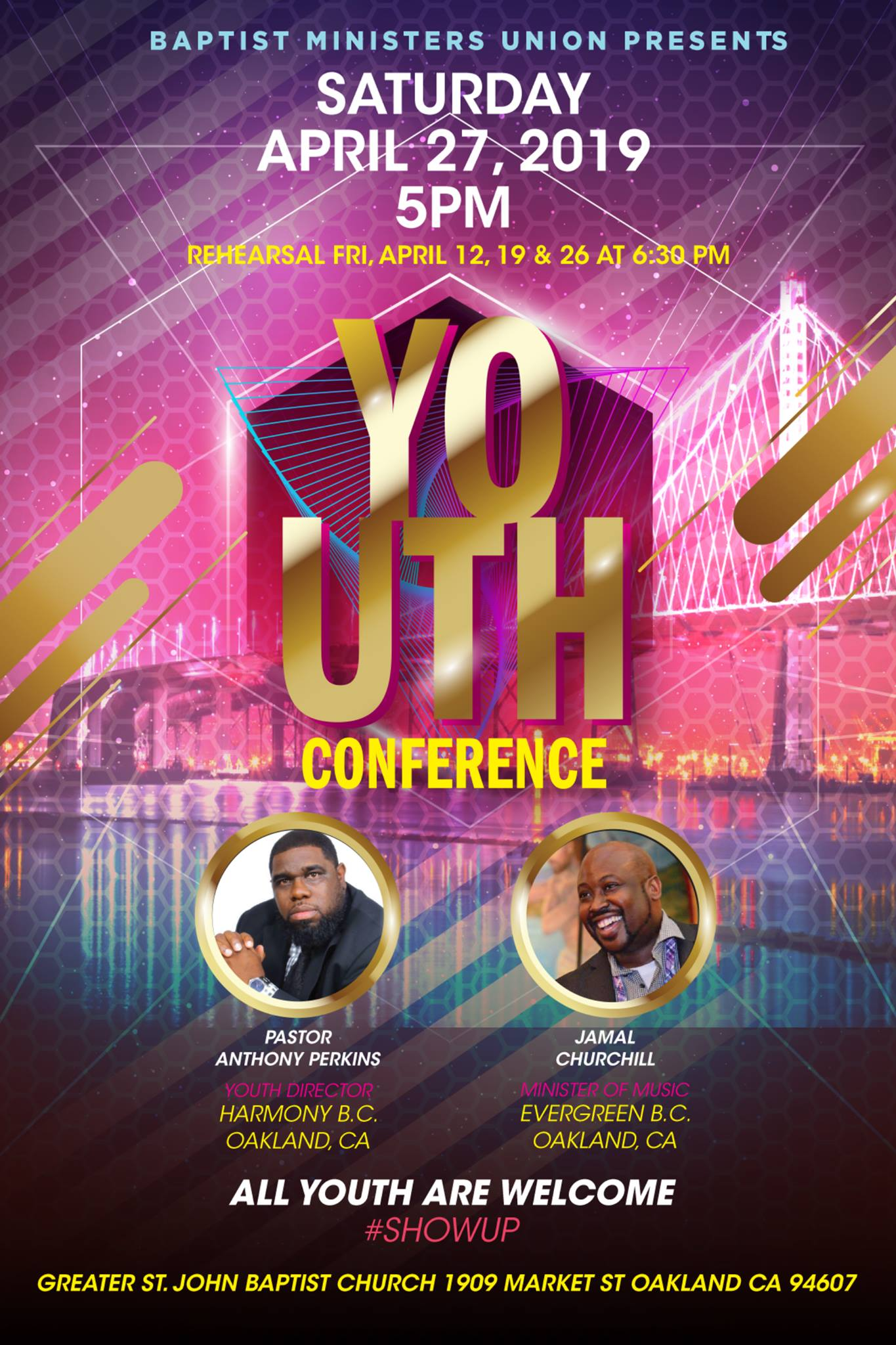 BMU Oakland Youth Conference Youth A Rama 2019