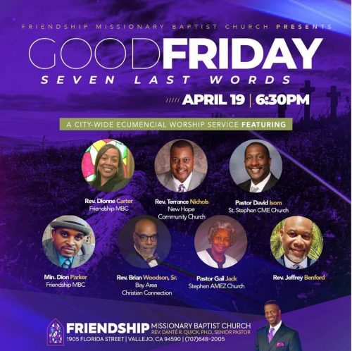 Friendship Missionary Baptist Church Good Friday 2019