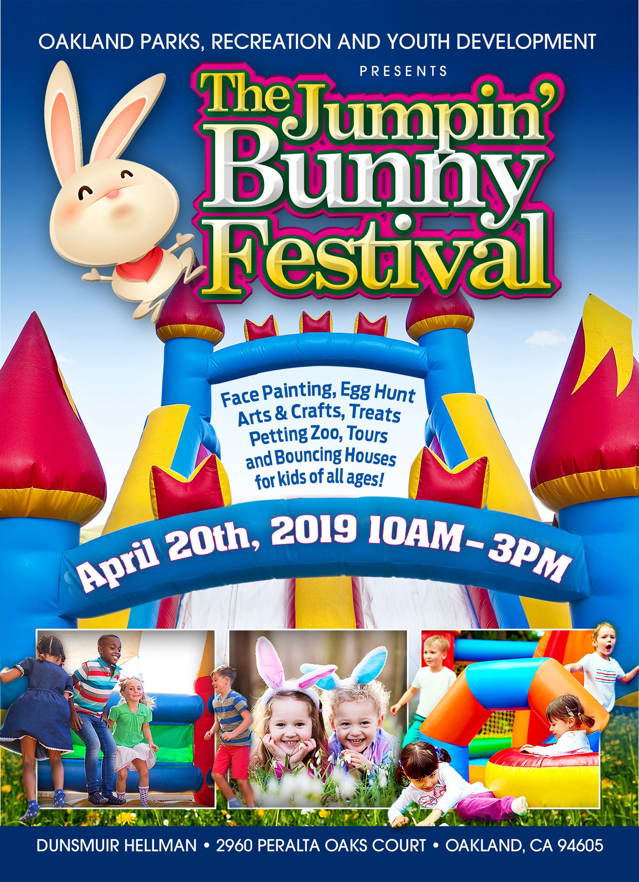 Oakland The Jumpin Bunny Festival 2019