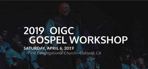 Oigc Annual Gospel Workshop 2019