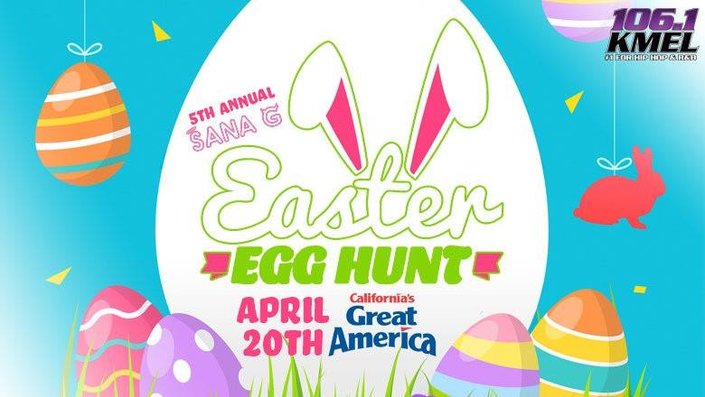 Sana G Easter Egg Hunt 2019