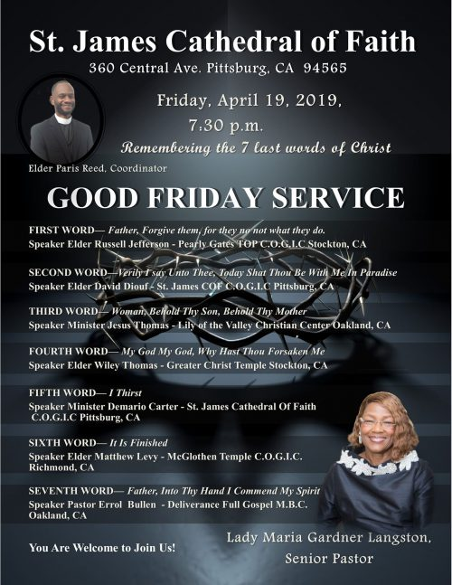 St James Cathedral Of Faith Good Friday 2019