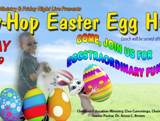 Third Baptist Church Easter Egg Hunt 2019