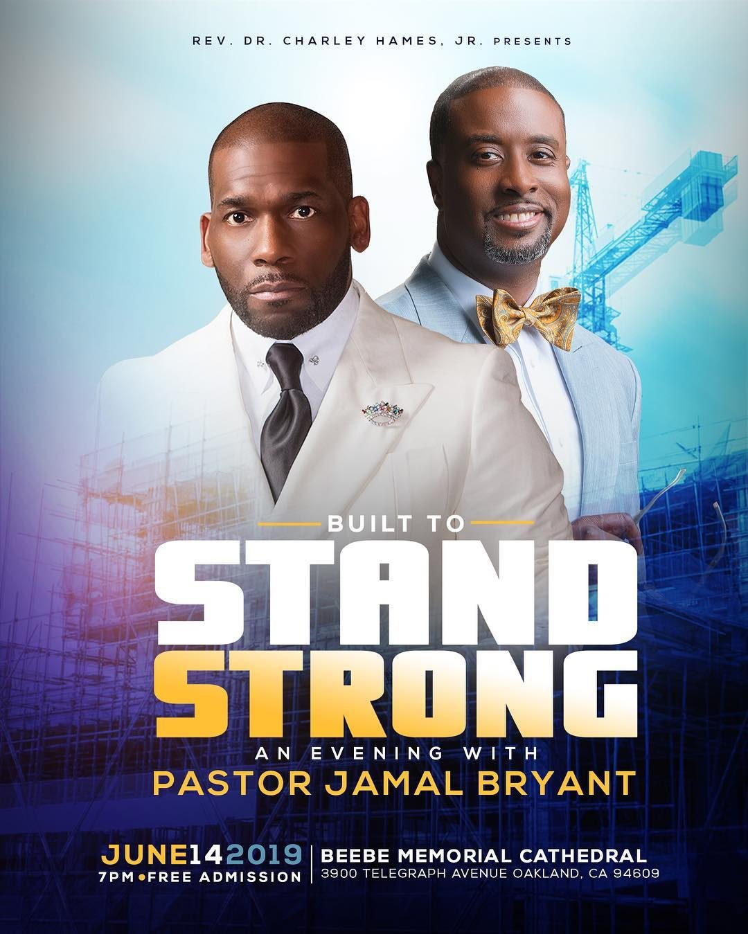 Built To Stand Strong Dr Jamal Bryant 2019
