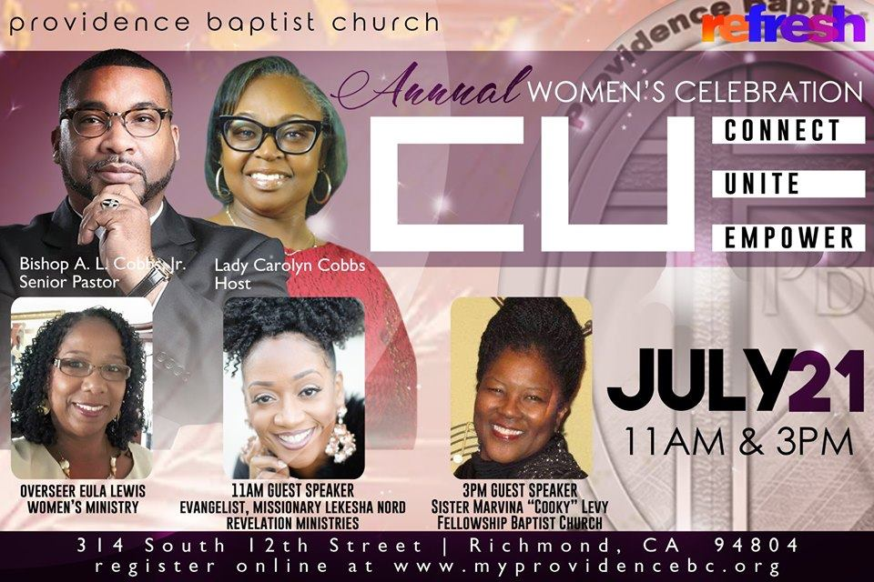 Providence Baptist Church - Annual Women's Day Celebration 2019