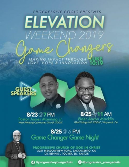 Progressive COGIC Young Adult Ministry - Elevation Weekend 2019