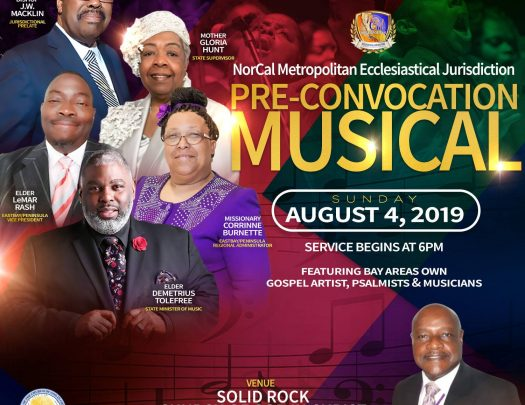 Nor Cal Metro COGIC Holy Convocation Concert 2019