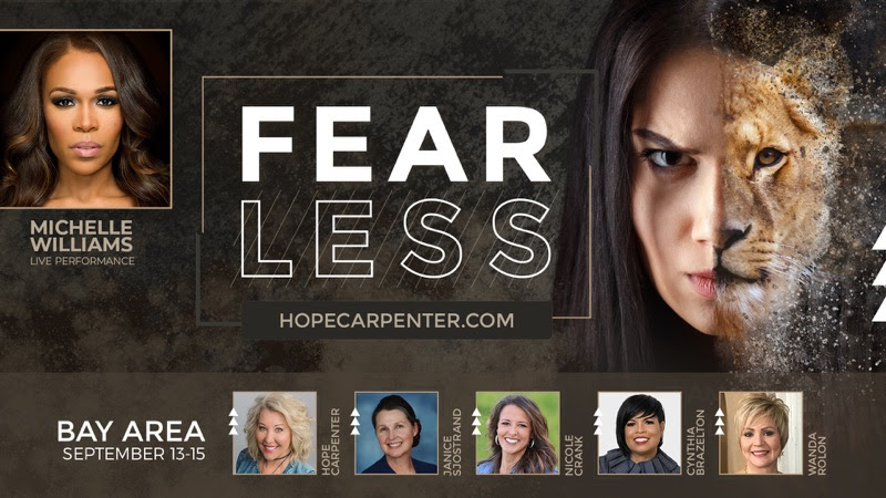 Hope Carpenter Fearless Womens Conference 2019