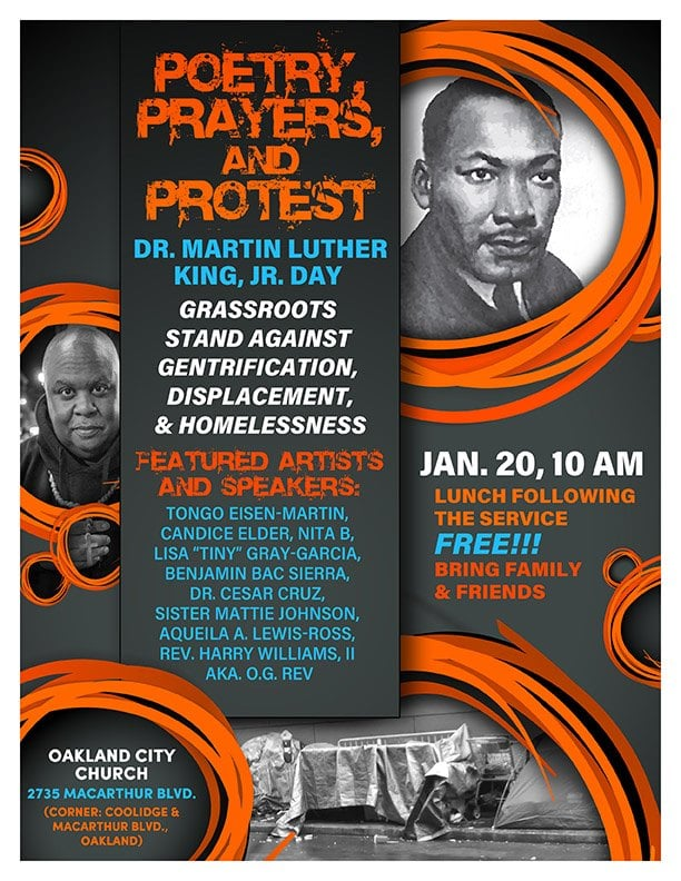 MLK Day Prayers Poetry Protest 2020