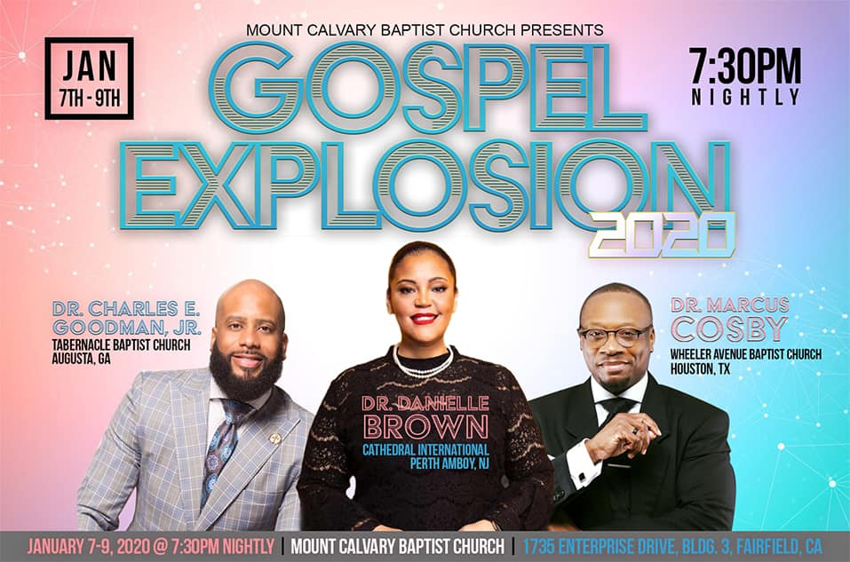 Mount Calvary Baptist Church - Gospel Explosion 2020