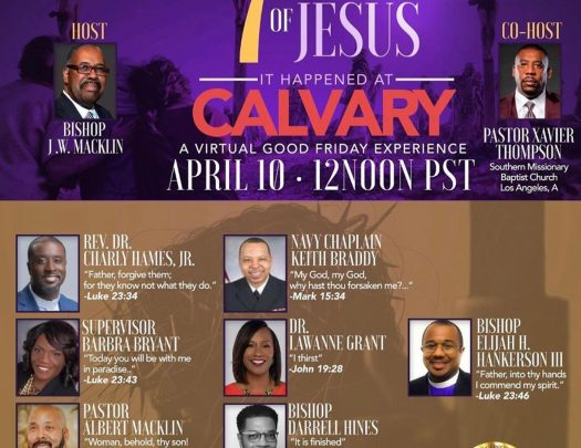 Glad Tidings Cogic Good Friday 2020