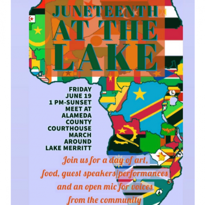 Lake March Juneteenth 2020
