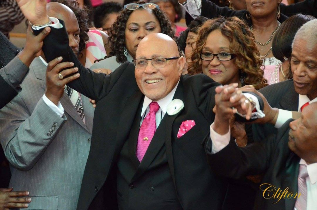 Bishop Frank Pinkard. Photo Credit: Joel Clifton (2016)
