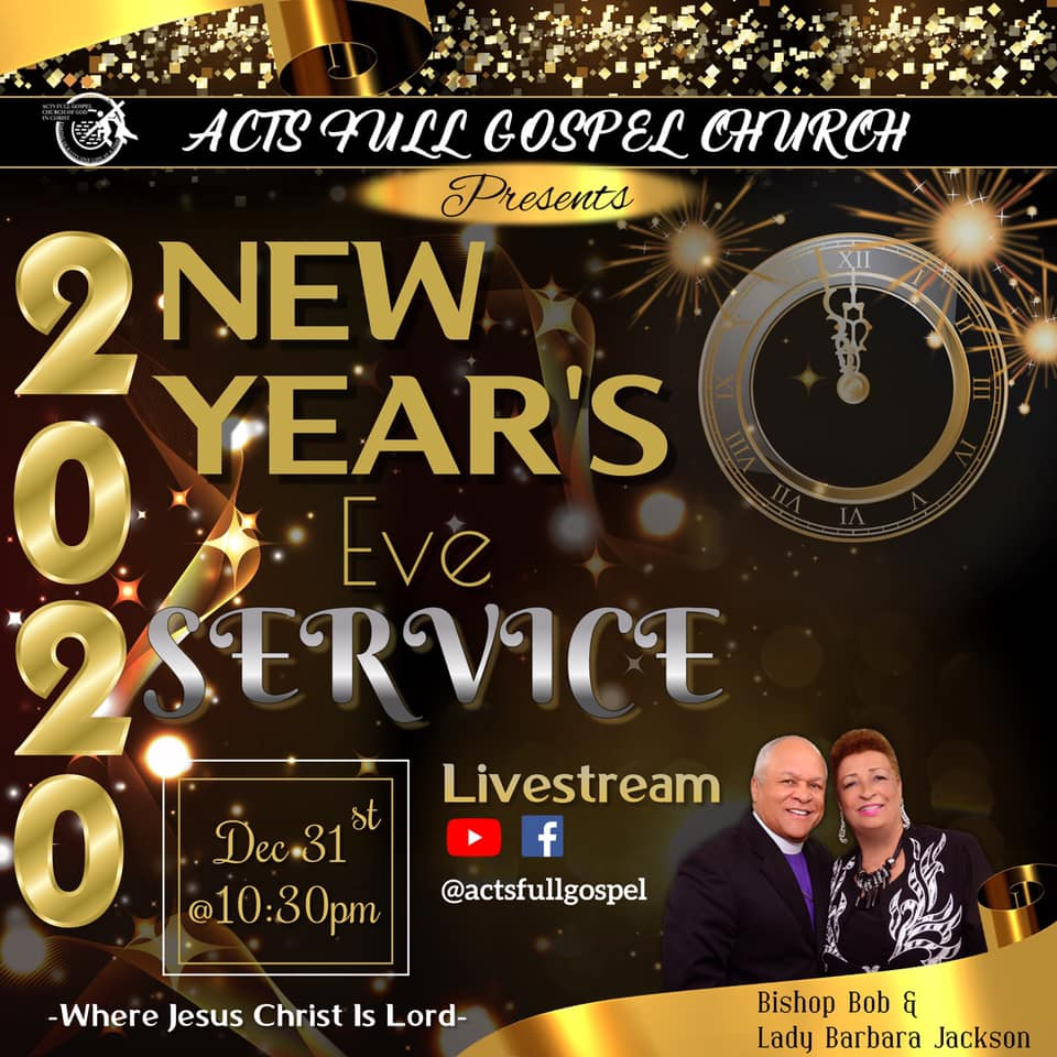 Acts New Years Eve Service