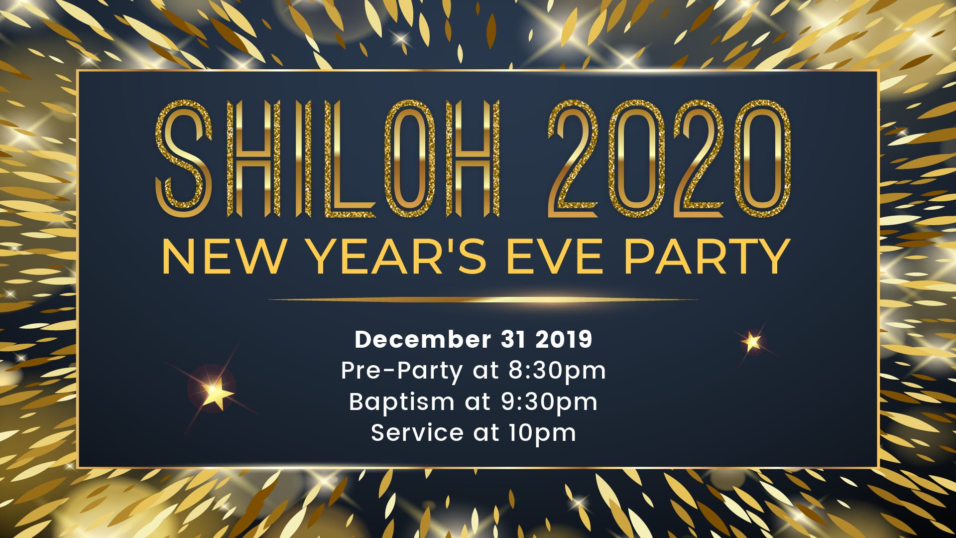 Shiloh Oakland New Years Eve